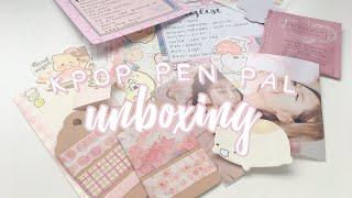 Kpop Pen Pal Unboxing (ㆁᴗㆁ✿)