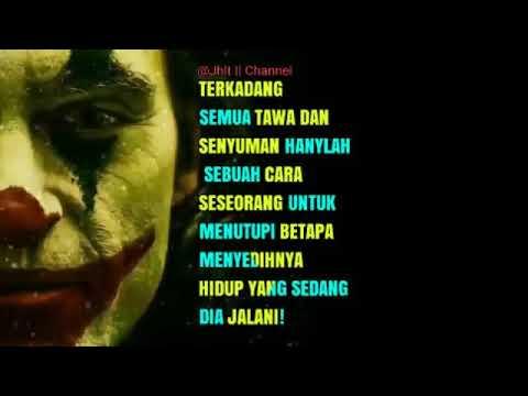 Kata Kata Joker Terbaru 2019 Tentang Tersenyum