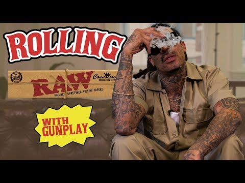 How to Roll a Raw Paper with Gunplay (HNHH)