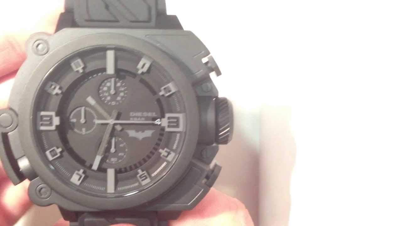 e07cbd001ca Review  Diesel Watch DZWB0001 - Limited Edition Batman (5000 Pieces)  Worldwide   elitshop.ch - YouTube