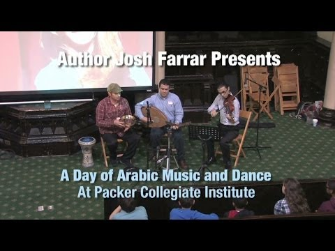 Josh Farrar Presents - A Day of Arabic Music and Dance (Writing Lecture Series)