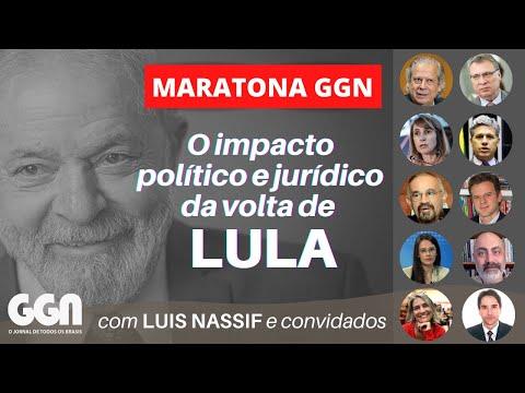 A VOLTA DE LULA e a SUSPEIÇÃO DE MORO - MARATONA GGN