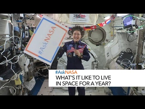 #AskNASA with Christina Koch Whats it like to live in space for a year?