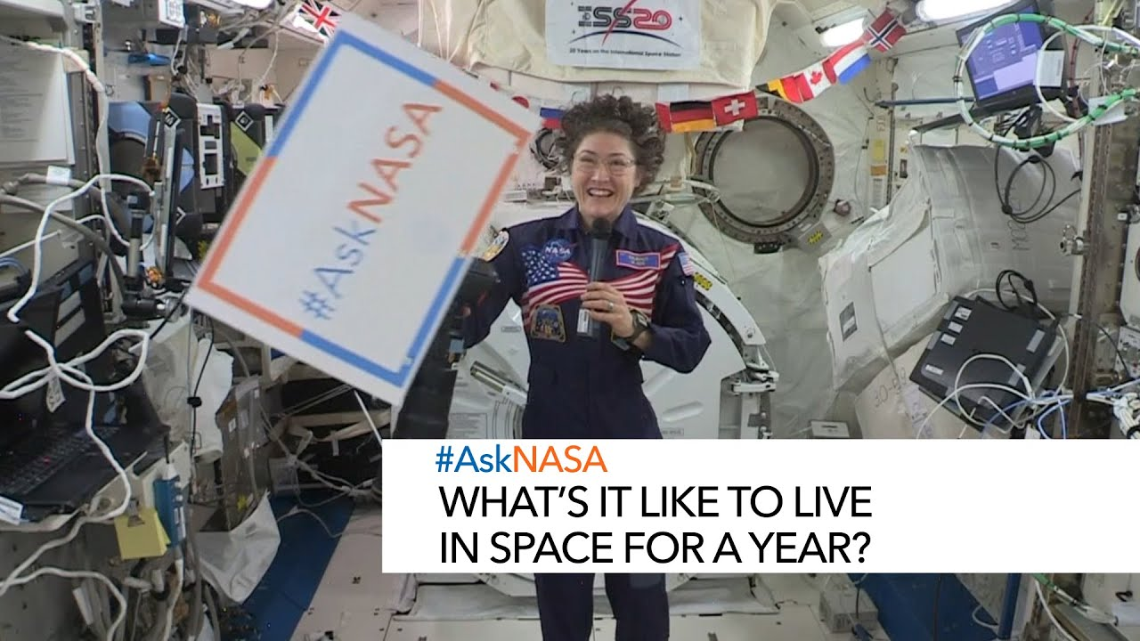 #AskNASA with Christina Koch What's it like to live in space for a year? - NASA