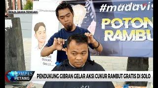 Warga Solo Gelar Potong Rambut Gratis Ala Gibran Jokowi