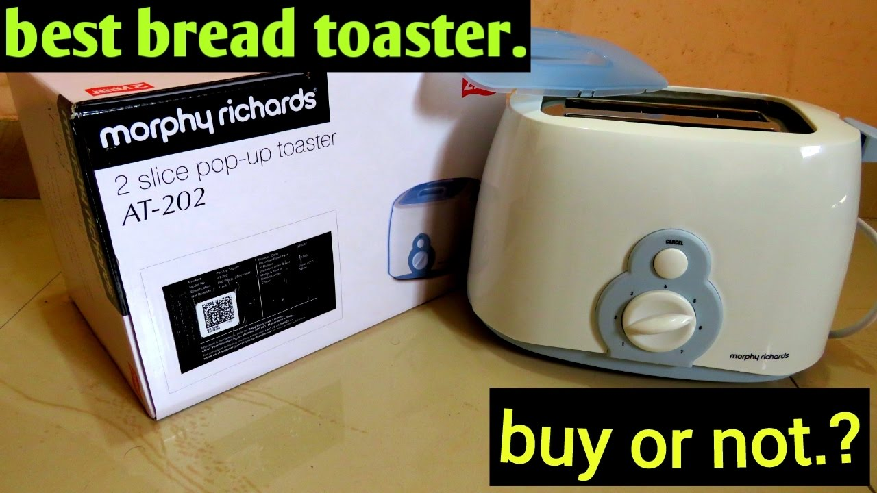 the best morphy richards toaster AT 202st toaster category