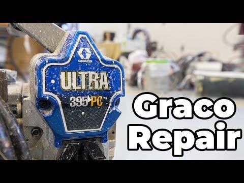 Airless REPAIRS...  Graco Lower End Repair