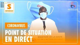 """Suivez en direct le point de situation du """"Coronavirus"""" au Sénégal de ce Vendredi O5 Juin 2020"""