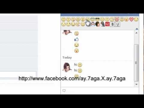 Facebook Chat Emoticons Bar Google Chrome