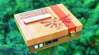 Beautiful Handmade Wood Nes - It Works