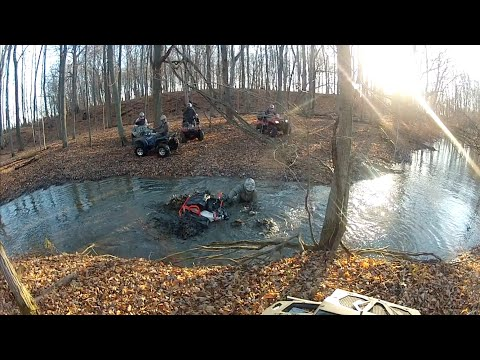 Mud hole competition! Renegade 1000xxc vs XMR 850 vs O ...