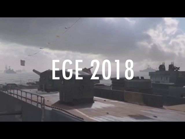 EGE 2018 - Call of Duty Announcement