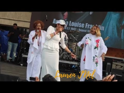 The Clark Sisters Pay Homage To Aretha Franklin At City Fire 2018 In Detroit
