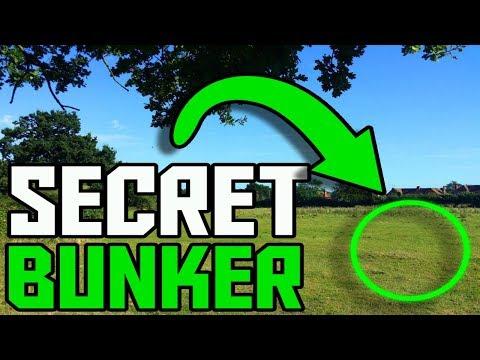 TOP SECRET UNDERGROUND BUNKER!