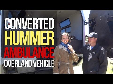 Hummer Ambulance Conversion by Humv4u.com: Overlanding