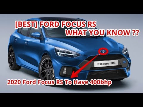 ford focus rs   bhp youtube