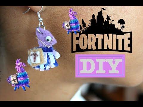 Fortnite DIY | How to Make Loot Llama Earrings