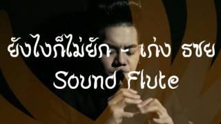 ยังไงก็ไม่ยัก - เก่ง ธชย Sound Flute