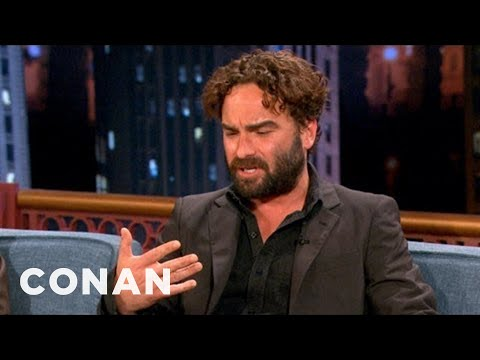 "Johnny Galecki's Chicago Nickname Was ""Bitchfingers"" - CONAN on TBS"