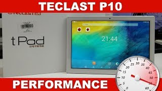 Teclast P10: Performance, Gaming & Benchmarks