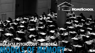GCSE Psychology: Memory - Episode 1: Introducing the Models of Memory