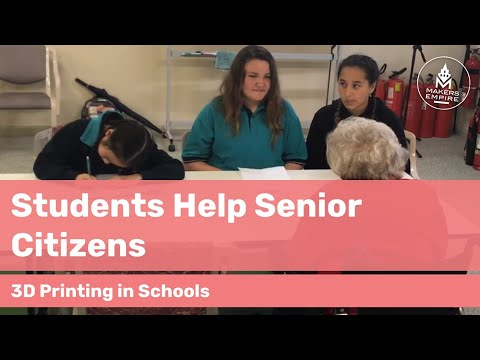 How Woodville Gardens PS Students Helped Senior Citizens with 3D Printing | Education Case Study