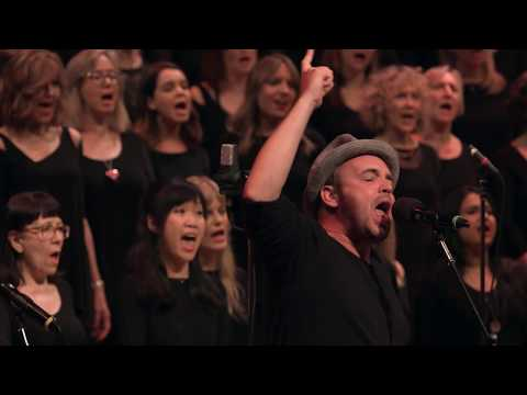 Hawksley Workman performs Life On Mars with newchoir