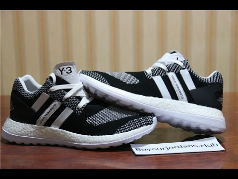 4a7cc3ed9 Adidas Y3 Pure Boost ZG Knit Black White Oreo AQ5731 From  beyourjordans.club - YouTube