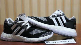 Adidas y3 pure boost zg knit black white oreo aq5731 from beyourjordans.club
