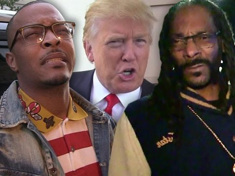TI and Bow Wow Come to the Defense of Snoop Dogg after Donald Trump Slams his Music Video.