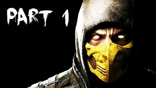 Mortal Kombat X Walkthrough Part 1 - STORY MODE - Chapter 1 (60fps Gameplay)