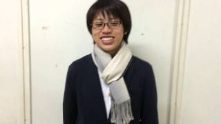 福岡大学演劇部、2014年後期公演「天使は瞳を閉じて」でユタカを演じる...
