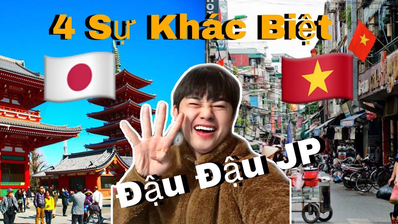 4 Điểm Khác Biệt Giữa Văn Hoá Nhật Bản x Việt Nam | Đậu Đậu JP | Cuộc sống ở Nhật