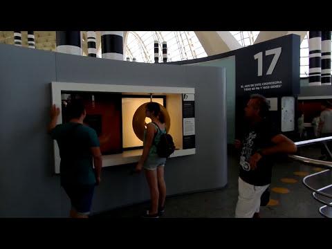 MUSEO DE LAS CIENCIAS PRÍNCIPE FELIPE VALENCIA (piso superior)