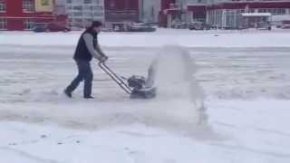 BestSad Снегоуборщик бензиновый HYUNDAI S 5050 смотреть