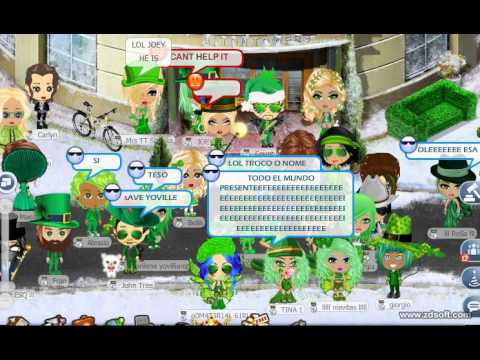 Rec039 Yoville - Wednesday Green Protest