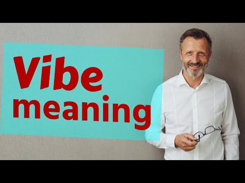 Vibe Meaning Of Vibe Youtube