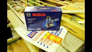 Bosch Profesional GST 12V-70 Cordless Jigsaw Unboxing