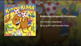Boblesåpe (singback) Bonusspor