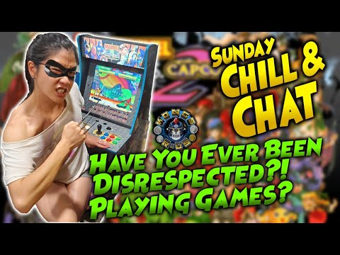 I Hate Teabaggers!! Do Some Video Game Taunts Go Too Far? Arcade1Up MvC (Sunday Chill & Chat) from Kongs-R-Us
