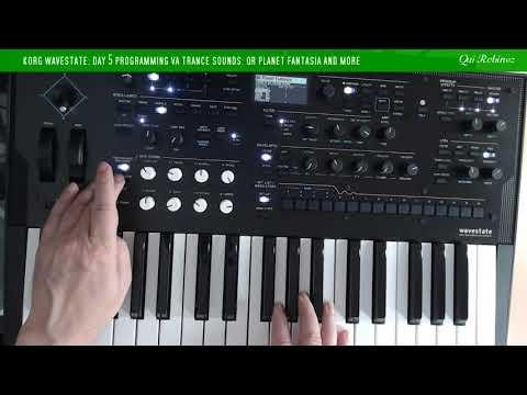 Korg Wavestate: Day 5 Programming VA Trance Sounds