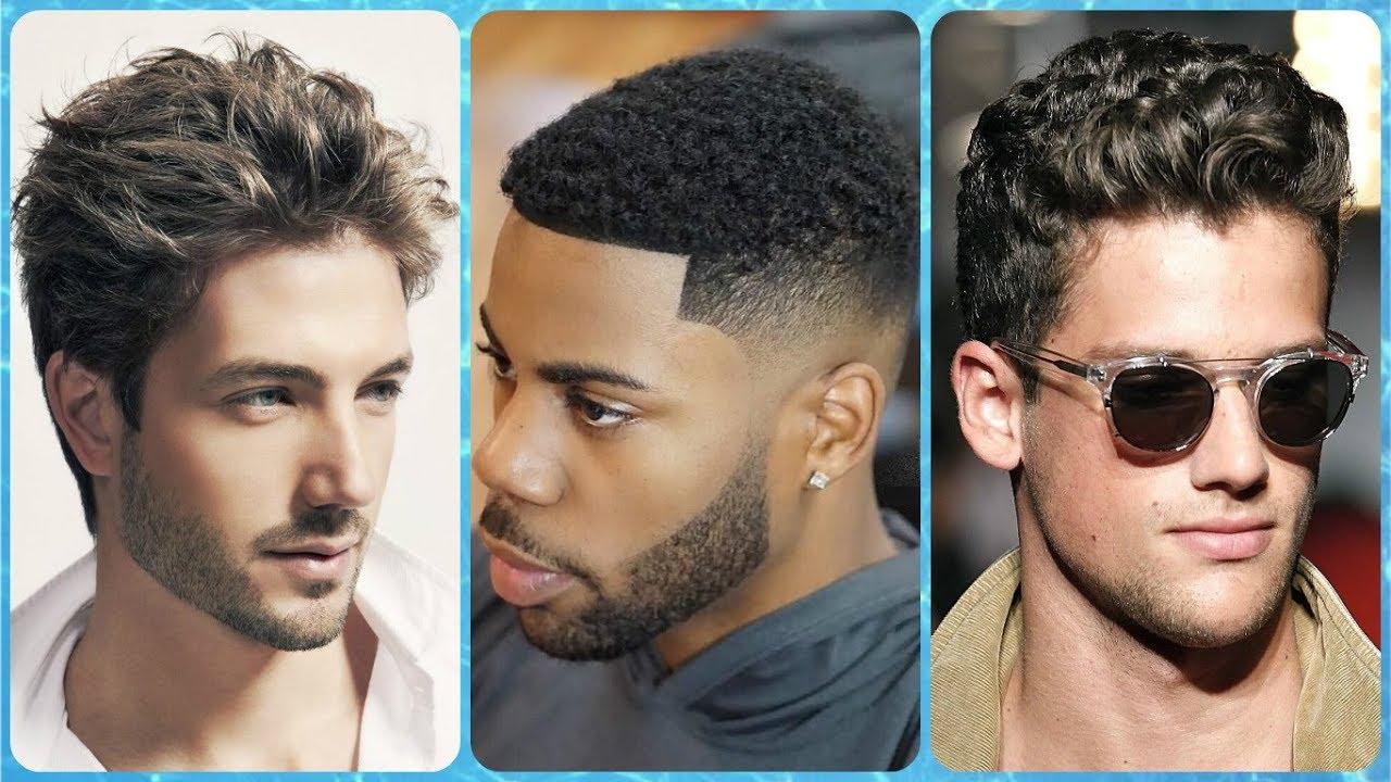 Peinados con el cabello ondulado hombres
