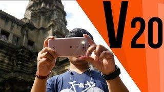 LG v20 Review (ខេមបូ រីផត) 4K