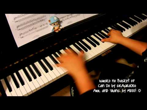 Kuroko no Basket - Can Do (piano by ear w/ sheets)