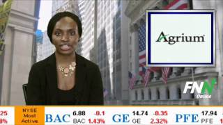 Agrium (AGU) Also Liked at Goldman Sachs - Upgraded Two Notches