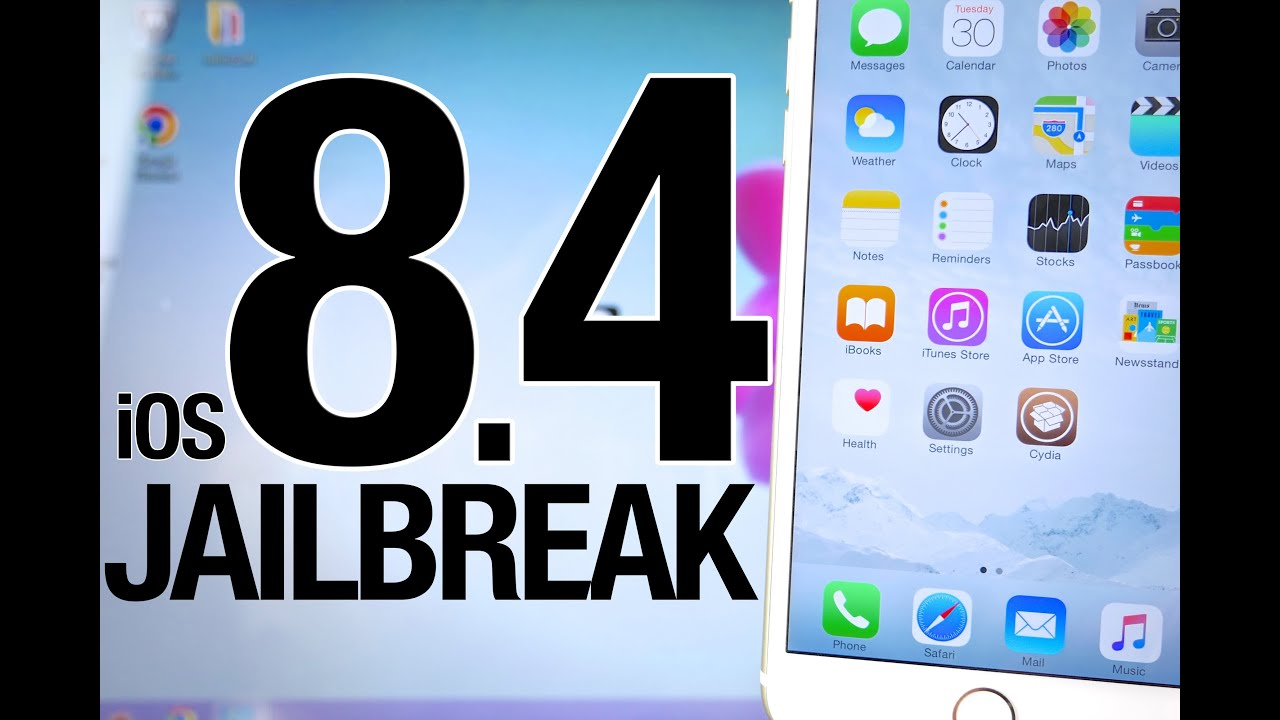 NEW How To Jailbreak iOS 8.4 Untethered - Taig 2.3.0 for iPhone