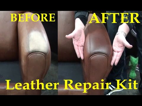 FIX WORN LEATHER - Aniline LEATHER REPAIR KIT