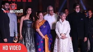 Aishwarya Rai, Abhishek And Amitabh Bachchan At Grand Premiere Of Sarbjit Movie