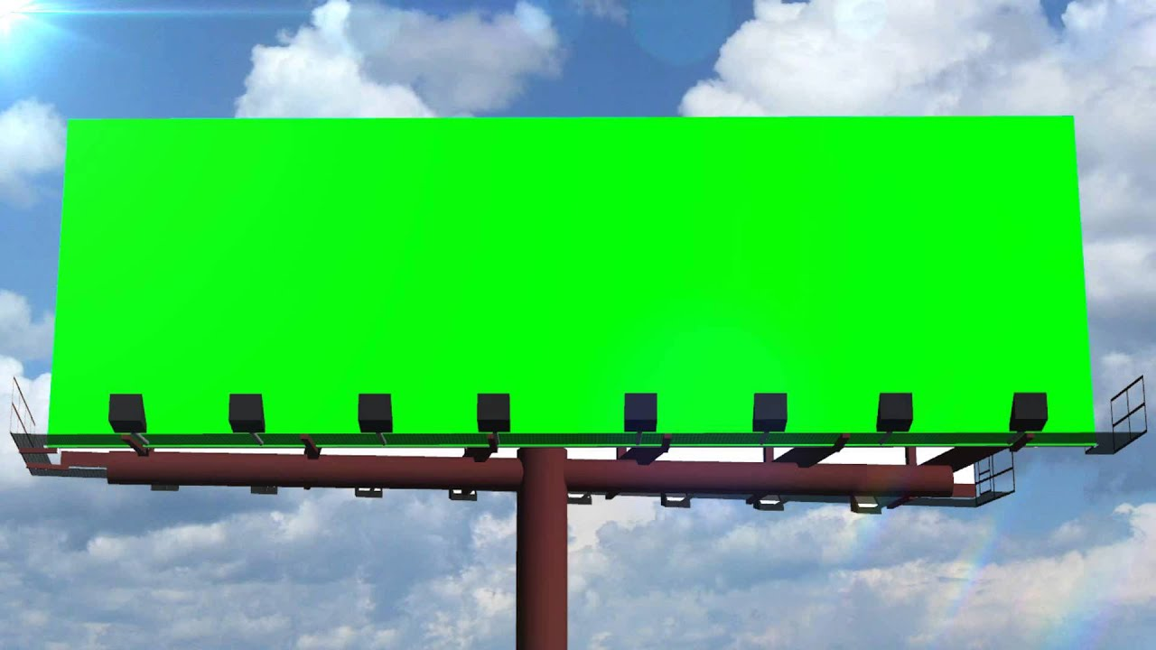 how to make a billboard sign