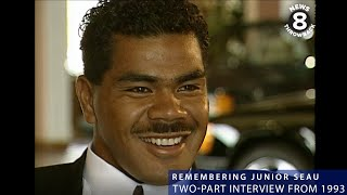 Two-part interview with San Diego Charger Junior Seau in 1993